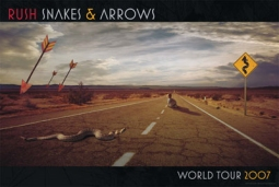 World Tour 2007 Music Poster