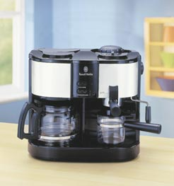 russell hobbs uno uno coffee machine instructions