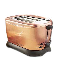 RUSSELL HOBBS Copper 2-Slice Toaster - review, compare ...