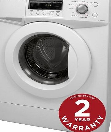 Russell Hobbs Freestanding RHWM81400DIDW 8KG Family Size White 1400 Spin Direct Drive Inverter Washing Machine - F