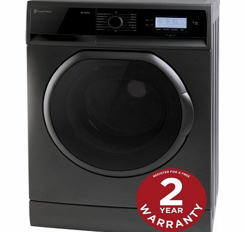 Russell Hobbs RH1250RTG - 12 Minute Washing Machine - 7Kg Graphite