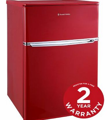 Russell Hobbs RHUCFF48R 48cm Red Under Counter Fridge Freezer product image