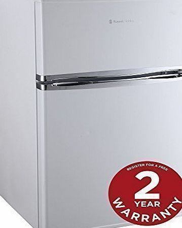 Russell Hobbs RHUCFF48W 48cm Wide White Under Counter Fridge Freezer - Free 2 Year Warranty* product image