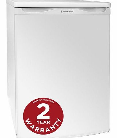 Russell Hobbs RHUCFZ55 55cm Wide White Under Counter Freezer - Free 2 Year Warranty* product image