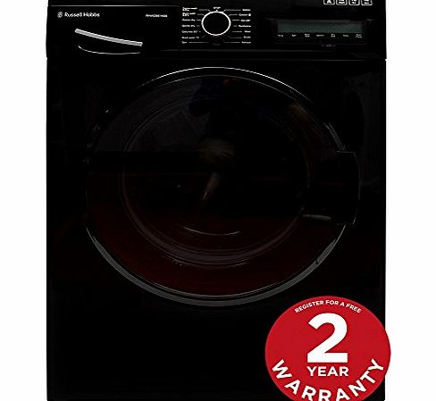Russell Hobbs RHWD861400B 8kg/6kg Black Washer Dryer - Free 2 Year Warranty* product image