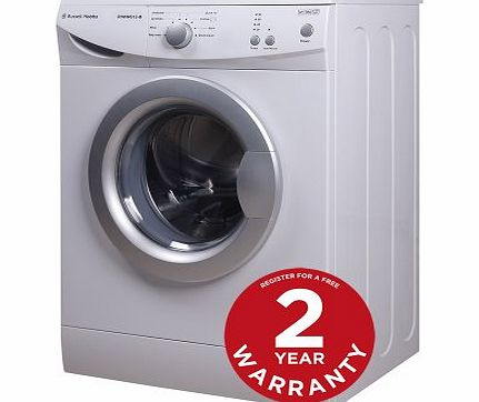Russell Hobbs RHWM612-M 6kg 1200 spin White Washing Machine - Free 2 Year Warranty* product image