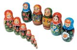russimco 7 pc Nestig doll product image