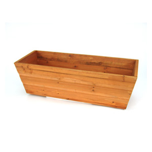 Rustic pine wooden window box small size review for Buy wood windows online