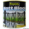 Matt Finish Black Paint 1Ltr