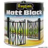Matt Finish Black Paint 2.5Ltr