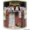 Matt Finish Brick and Tile Red Paint 1Ltr