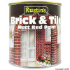 Matt Finish Brick and Tile Red Paint 250ml