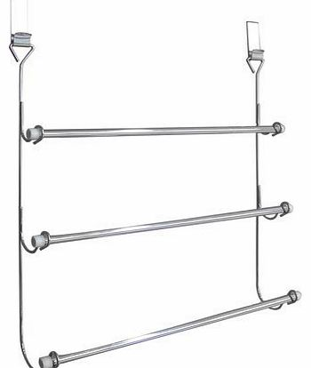 3-Tier Over Door Towel Rail