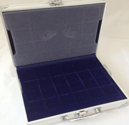 Safe Aluminium Coin Storage Case for 214 coins
