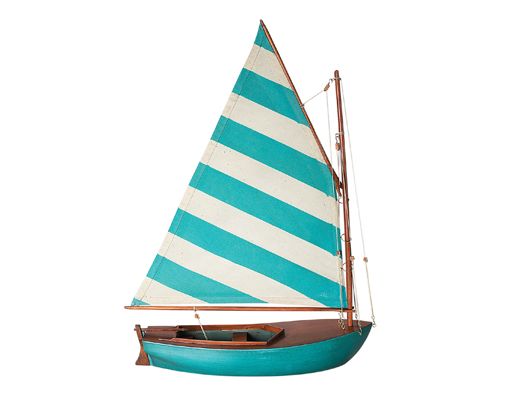 Sailing Boat Blue