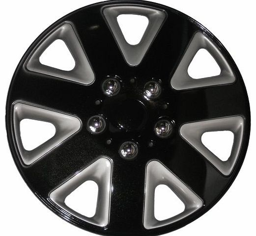 14-inch Universe Wheel Trims - Black/Silver