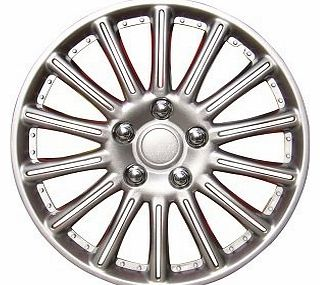 Wheel Trims 15-inch - Silver - Set of 4