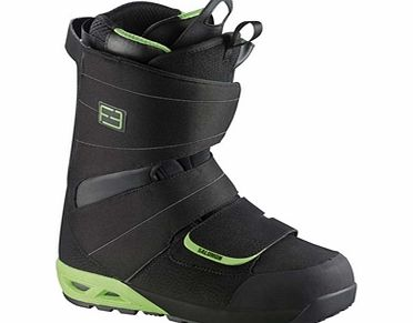 Salomon F3.0 Boots - Black/Pop Green product image