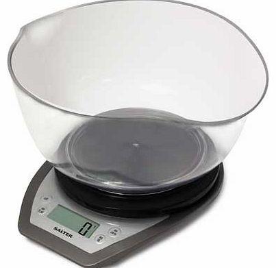 Black Salter Glass Aquatronic Kitchen Scale