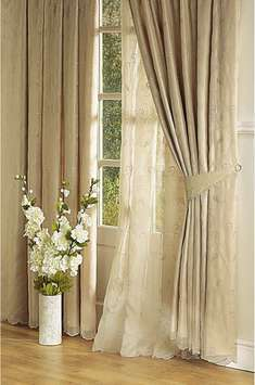 JCPenney Home BYRON Rod Pocket Curtains Lined 3 pc SET | eBay