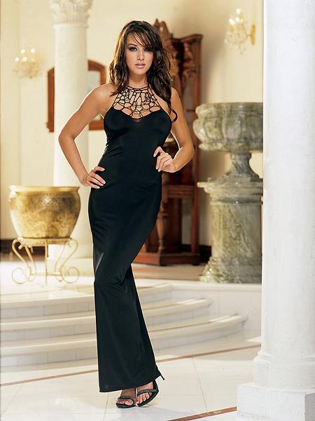 fustane te gjate Samantha-lingerie-tribeca-nights-long-dress