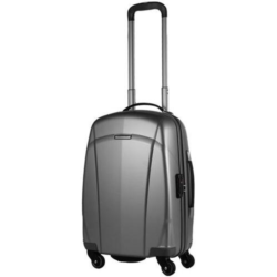 Itineris Spinner 55cm Silver + FREE Luggage