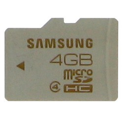 4GB Samsung SD Card