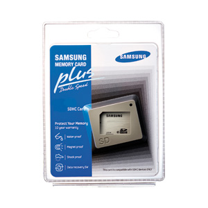4GB SD PLUS Memory Card - Class 6