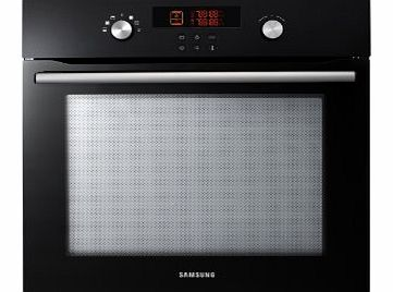 Samsung BT621VDB Single Electric Oven with Dual Cook Technology Black product image