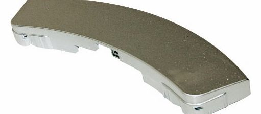 Samsung Fridge Freezer Matt Silver Door Handle. Genuine part number DC64-00561D product image