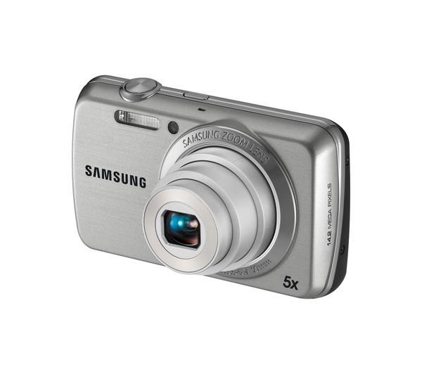 samsung pl22 silver digital camera review compare. Black Bedroom Furniture Sets. Home Design Ideas