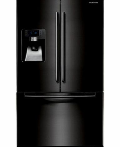 Samsung RFG23UEBP1 G-series 3-door Large Capacity Freestanding Fridge Freezer - Gloss Black product image