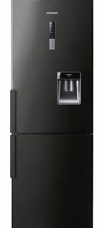 Samsung RL56GWGBP Freestanding Fridge Freezer frost free in black product image