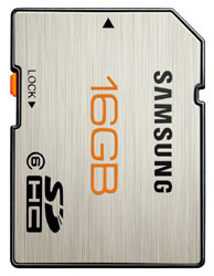 Secure Digital SDHC PLUS CLASS 6 - 16GB