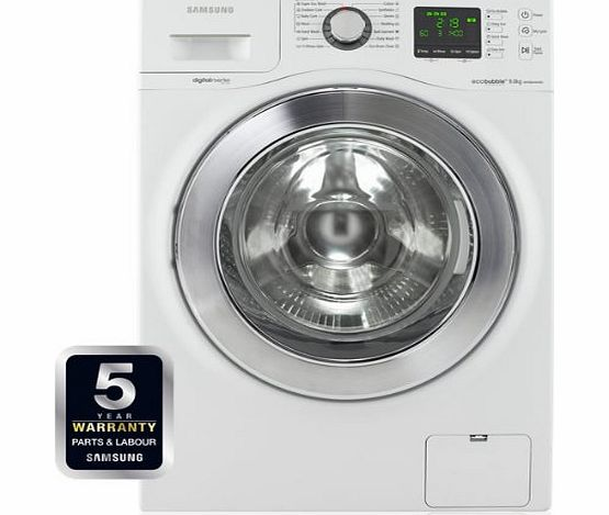 Samsung WF906U4SAWQ EcoBubble White 9kg 1400rpm Freestanding Washing Machine