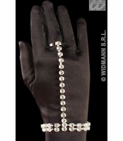Sancto Rhinestone Bracelet/Ring Set Roman Jewellery for Fancy Dress Costumes Accessories Accessory product image