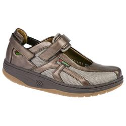 Sano By Mephisto Female Sano Excess Exercise Shoe Leather/Textile Upper Leather/Textile Lining Casual Shoes in Bronze, Red, Steel product image