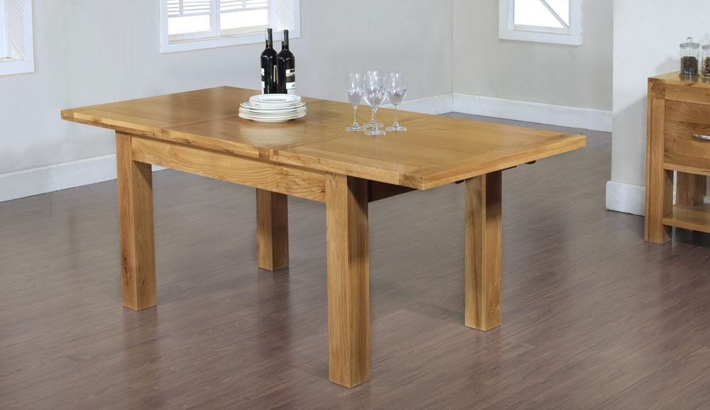 santana oak dining tables : santana blonde oak small extending dining table from www.comparestoreprices.co.uk size 1000 x 578 jpeg 211kB
