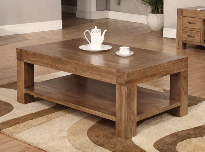 Reclaimed Oak Coffee Tables