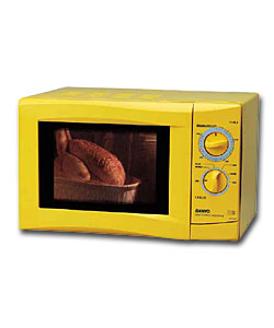 Sanyo Ems1053s Yellow Microwave Oven Review Compare