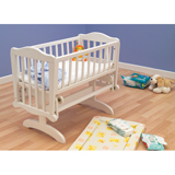 Saplings Furniture Saplings Glider 40cm Crib in Pine with Natural