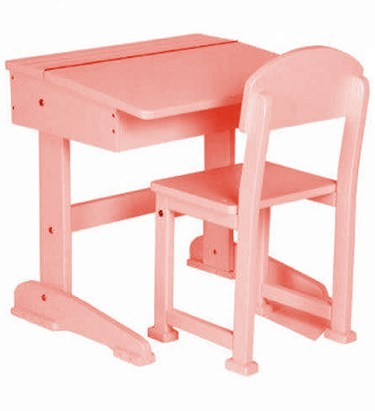 Saplings Pink Toddler Desk And Chair