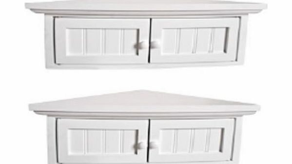 white bathroom corner cabinets pair cupbaords storage units small