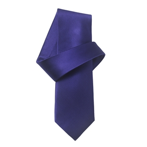 Savile Row Purple Twill Pure Silk Tie