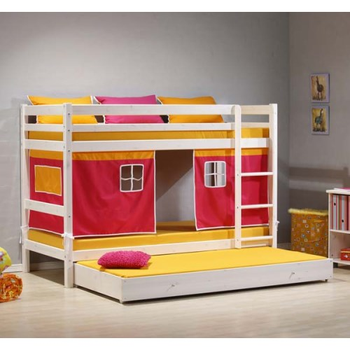 Classic Single Bed With Trundle Bed By Stompa: Stompa Beds