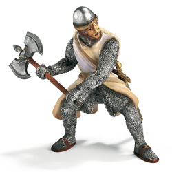Schleich Foot-Soldier with Battleaxe product image