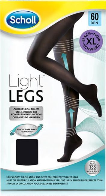 Scholl, 2102[^]0139249 Light Legs 60 Denier X- Large New