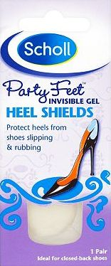 Scholl, 2041[^]10046354 Party Feet Invisible Heel Shields - 1