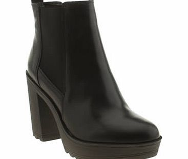 schuh Black Go Getter Boots