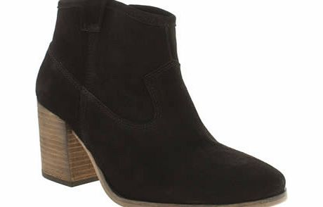schuh Black Ranch Boots